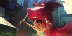Base FX Enters Risky Chinese Animated Feature Arena with 'Wish Dragon' | Animation World Network