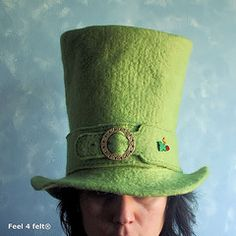 Wet Felting Patterns Free | Helena Pinto - myGraftySide) Tags: wool wet hat felting artesanal felt ...