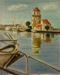 Puerto de Almerimar Oleo