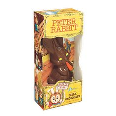 My Easter basket wasn't complete without lots of Palmer chocolates! Only brand I really ate growing up! ~ Milk Chocolate Peter Rabbit by Palmer