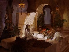 Dermot Power - Arabian Nights concept art