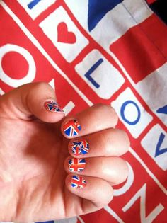 putting the fun back into fashion! get that One Direction fan some cute nails to show off!   wildaboutnails.net