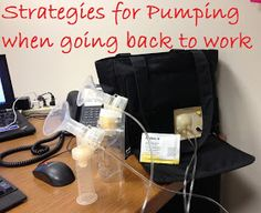 Welcome, Aaron: Strategies for Pumping When Going Back to Work