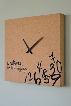 Always Late Clock i-want-it
