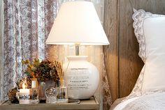 Lene Bjerre – AUTUMN 2013. TONJE LIGHTING lamp and BETHA EMB. bedding.