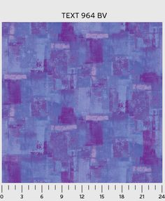 Periwinkle Paint Strokes Textura P and B Textiles Fabric 1 yard
