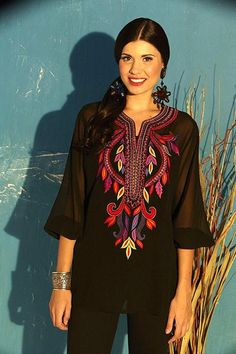 Roja Spring 2014 Vibrant Embroidery Tunic! - CLOTHES