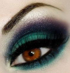 Eye Make up ideas for Ballroom Competition found on Classic Ballroom Elegance Ballroom Dress Rentals