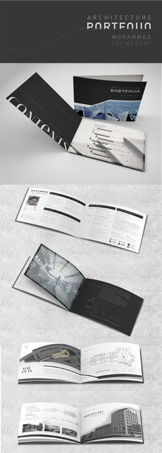 Architecture Portfolio on Behance