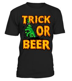Halloween gift for beer lover - Trick or  #birthday #october #shirt #gift #ideas #photo #image #gift #costume #crazy #halloween