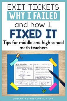 Teacher Lesson Plans, Math Teacher, Teaching Math, Teaching Ideas, Teaching Strategies, High School Classroom, Math Classroom, Classroom Ideas, Future Classroom