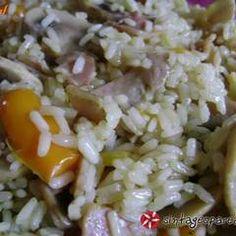 Ρύζι με κάρυ και μπέικον συνταγή από efh_dimitris - Cookpad Grains, Rice, Recipes, Food, Recipies, Essen, Meals, Ripped Recipes, Seeds