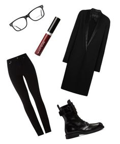 """""""Wicked monday"""" by alexastiffler on Polyvore featuring мода, Haider Ackermann, Amapô, Ann Demeulemeester, Burberry и Beauty Is Life"""