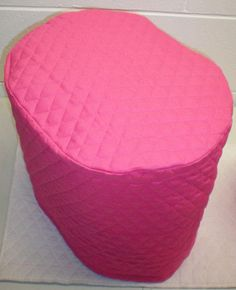 Hot Pink Quilted Cover for Keurig 2.0 Coffee Brewing Systems