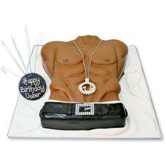 male torso cake - Google Search