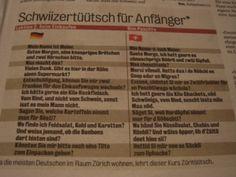 Schweizerdeutsch für Anfänger. Das hier hilft jedem weiter. | LikeMag