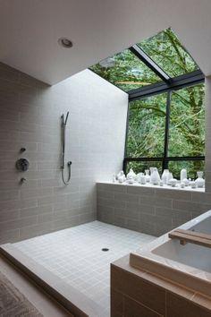 dream open shower design - Google Search