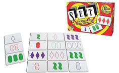 nice Set Card Game The Family Game of Visual Perception From Set Enterprises - For Sale Check more at http://shipperscentral.com/wp/product/set-card-game-the-family-game-of-visual-perception-from-set-enterprises-for-sale/