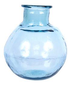 Another great find on #zulily! Aqua 12'' Glass Jar #zulilyfinds