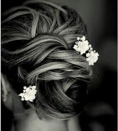 Wedding updo - without the flowers
