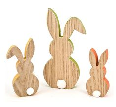 All Details You Need to Know About Home Decoration - Modern Easter Wreaths, Holiday Wreaths, Holiday Crafts, Wooden Art, Wooden Crafts, Easter Projects, Easter Crafts, Diy Ostern, Wooden Animals