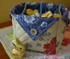 Seaside Stitches: FREE Fabric Box Tutorial