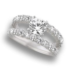 Gorgeous Engagement Ring #ring