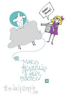 Make gratitude a daily practice!