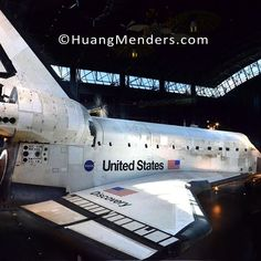 Big beautiful and much dirtier up close than you would expect but that's understandable considering Space Shuttle Discovery has a few million miles on it. #nasa #discovery #spaceshuttle #udvarhazy #smithsonian #kellybluebook #carfax #airandspace #huangmenders #bigideas #bigpeople #bigchanges #allshapesandsizes To see insider views and behind-the-scenes follow us on Instagram: http://bit.ly/HMPhoto1 Facebook: http://bit.ly/HMPFB Wordpress: http://bit.ly/HMWPress