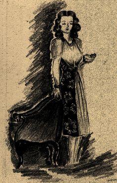 Woman Drawing - Woman Close To Armchair by Cuiava Laurentiu Framed Prints, Canvas Prints, Weekender Tote, Woman Drawing, Wood Print, Dc Comics, Armchair, Wonder Woman, Wall Art
