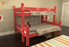 free plans build twin over full bunk bed | Woodworking Plans & Project More