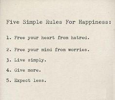 Keep it simple: may have already pinned this, but it is so true!