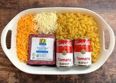 ingredients hamburger casserole instrupix recipe easy 4 Easy Hamburger Casserole Recipe 4 Ingredients InstrupixYou can find Dinner ideas and more on our website Easy Hamburger Casserole, Easy Casserole Dishes, Beef Casserole, Plat Simple, Libra, Recipe For 4, Baked Chicken, Food Dishes, Main Dishes
