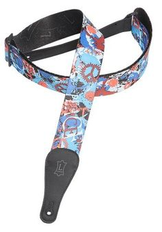 Levy's Leathers 2 Polyester Guitar Strap with Jimi Hendrix Design by Levy's Leathers. $22.37. 2-Inch Poly Strap J Hendrix Design