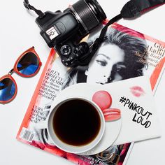 We #PINKOUTLOUD by sharing pink macaroons and lively conversation with our fearless female friends over coffee. Start a life-saving conversation with the women you love today! PaulMitchell.com/PINK