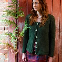 Free Cardigan Knitting Pattern - Riseley
