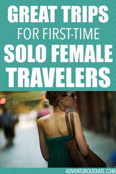 If you're a girl who hasn't traveled alone before, you might have no idea where to begin! That's okay — there are so many options for you. The ideal first solo trip for female travelers is easy, fun, and low-stress. Travel tips for women Solo Travel Tips, Travel Advice, Travel Guides, Golf Travel, Travel Articles, Travel Bags, Places To Travel, Travel Destinations, Voyager Seul