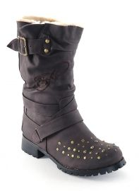 Ed Hardy boots... also in BLACK!    I love these!!!