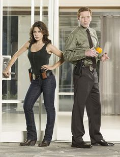 Life on NBC.  Damian Lewis and Sarah Shahi........was great but didn't catch on, I loved it!