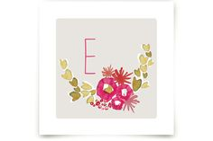 Sweet Blossoms by Kelly Ventura at minted.com