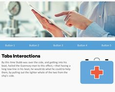 Storyline 360 and Storyline 2 Free Download: Medical Tabs Template