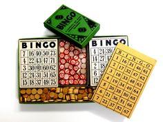 Vintage Like New Milton Bradley Bingo Game