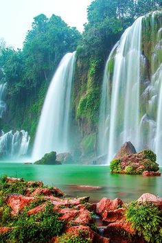 Gardens Discover Beautiful waterfall in Hanoi Vietnam Beautiful Waterfalls Beautiful Landscapes Cool Landscapes Landscape Paintings Places Around The World Around The Worlds Beautiful World Beautiful Places Beautiful Pictures Beautiful Waterfalls, Beautiful Landscapes, Places To Travel, Places To See, Travel Destinations, Beautiful World, Beautiful Places, Beautiful Pictures, Amazing Places