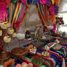 Fiesta / Mexican Bridal/Wedding Shower Party Ideas | Photo 10 of 19
