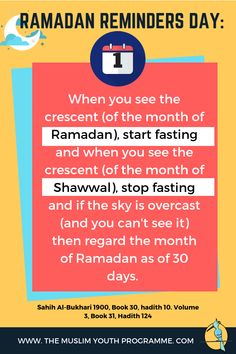 Ramadan Reminders: 30 Daily Reminders to Increase Your Spirituality in Ramadan