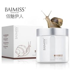 [Visit to Buy] Korean Cosmetics Snail Serum Face Mask Skin Care Anti Acne Treatment Whitening Cream Bioaqua Hyaluron Acid Wrinkle Cream 120g #Advertisement
