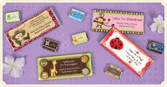 Candy Bar Wrappers - Baby Shower Favors