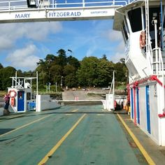 Ferry to castle Waterford Castle, Castle In The Sky, Castles, Fair Grounds, Fun, Travel, Viajes, Chateaus, Destinations