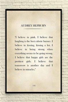 Motherhood Quotes Discover Audrey Hepburn Print Audrey Hepburn Quote Custom Art Print Book Page Art Print Audrey Hepburn Wall Art Classic Book Page Art Print Great Quotes, Quotes To Live By, Me Quotes, Motivational Quotes, Inspirational Quotes, Qoutes, Peace Quotes, Famous Quotes, Print Image
