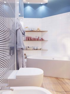 Bathroom – relaxation zone, it has enough space for the necessary plumbing and #furniture